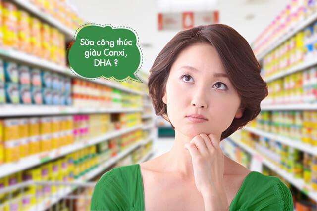 Sữa công thức có thật sựa mát, giàu Canxi, DHA ?