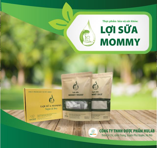 Lợi sữa mommy giúp tăng lượng sữa mẹ