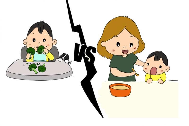 Lựa chọn ăn dặm truyền thống và ăn dặm bé tự chỉ huy