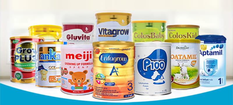 Cách chọn sữa công thức cho bé